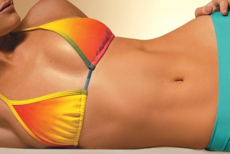 Abdominoplastias para Gorduras Viscerais Alto da Glória - Abdominoplastia para Barriga Inchada