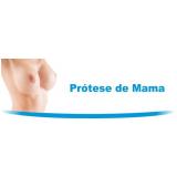 cirurgia para colocar prótese mamária silicone Tijucas do Sul