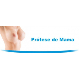 cirurgia para colocar prótese mamária silicone Fazenda Rio Grande
