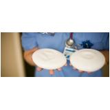 prótese mamária silicone